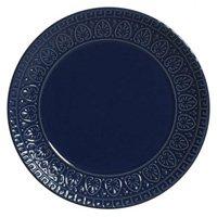 Jogo De Pratos Porto Brasil 6pçs Greek Deep Blue Azul-marinho
