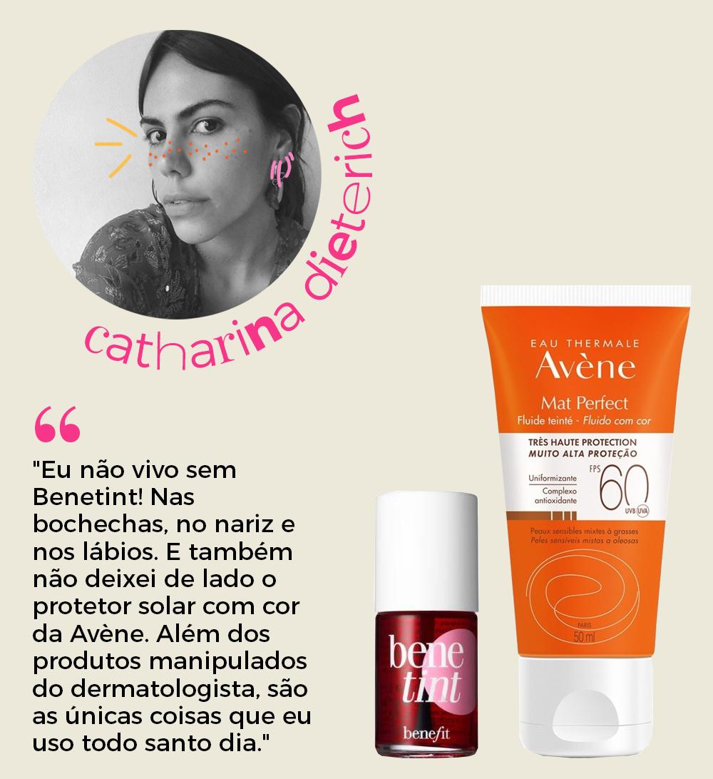 Catharina Dieterich - produtos de beleza -      -      -      - https://stealthelook.com.br