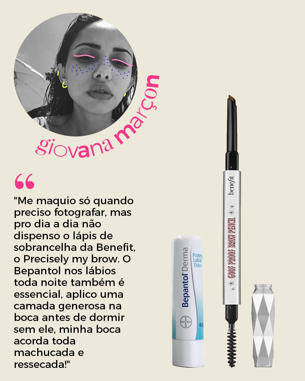 Giovana Marçon - produtos de beleza -      -      -      - https://stealthelook.com.br