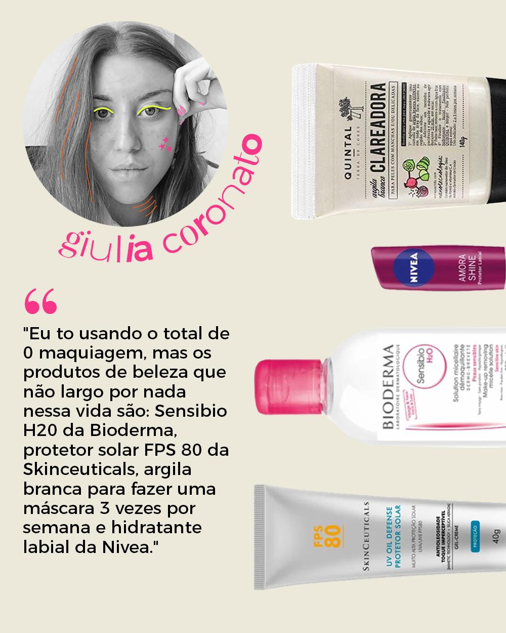 Giulia Coronato - produtos de beleza -      -      -      - https://stealthelook.com.br