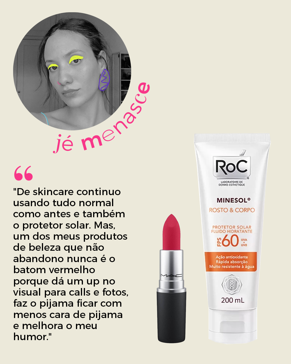 Jéssica Menasce - produtos de beleza -     -     -      - https://stealthelook.com.br