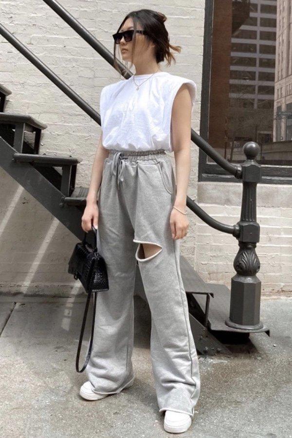 Sarah Kim - blusas básicas - looks de inverno - inverno - street style - https://stealthelook.com.br