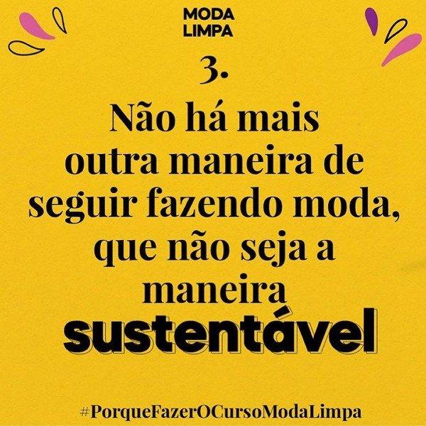 Moda Limpa - sustentabilidade - sustentabilidade - sustentabilidade - instagram - https://stealthelook.com.br