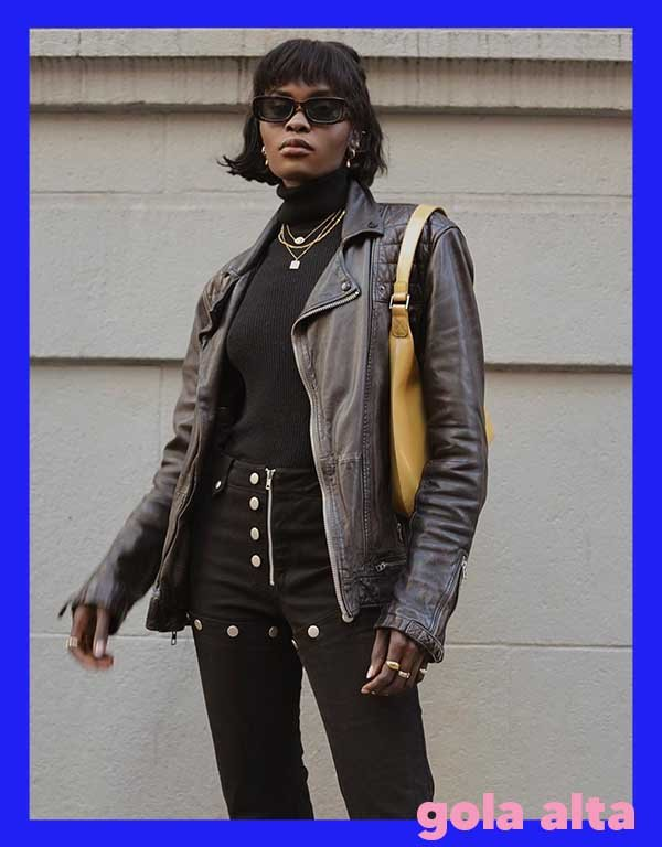 It girls - Gola alta - Tricots - Outono - Street Style - https://stealthelook.com.br