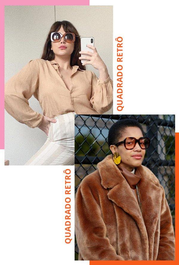 Victoria Yamagata, Tamu Mcpherson - modelos de óculos de sol - óculos de sol - inverno - street style - https://stealthelook.com.br