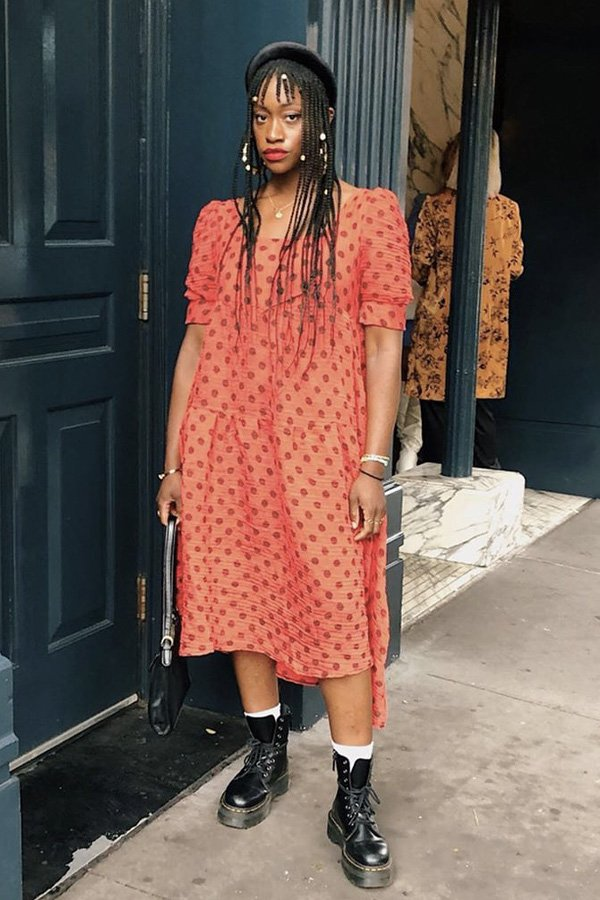 Yolande Macon - modelos de sapatos - sapatos e vestidos - inverno - street style - https://stealthelook.com.br