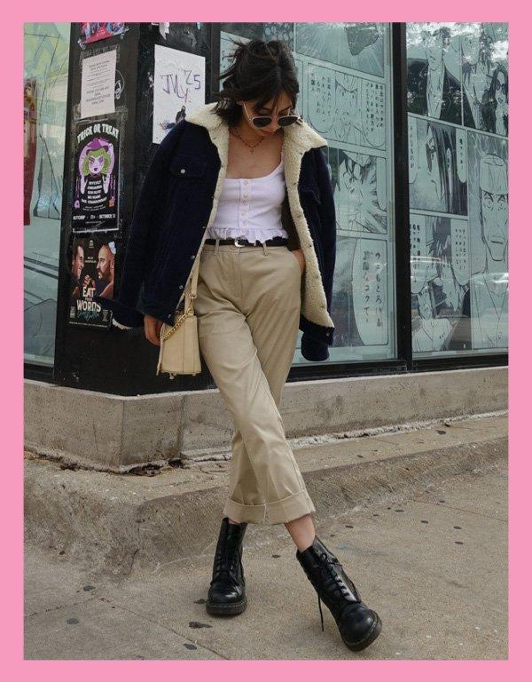Giovana Marçon - roupas de brechós - vintage - inverno - street style - https://stealthelook.com.br