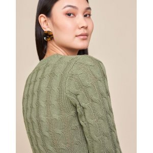 Suéter Tranças Textura