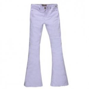 Calça Feminina Flare Branca Branco Tamanho 36