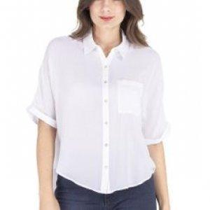 Camisa Feminina Ampla Branco Tamanho P