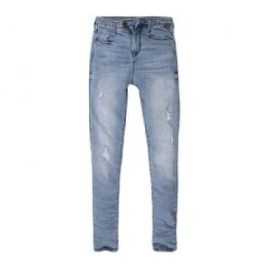 Calça Feminina Jeans Skinny Cintura Alta Used Cl Tamanho 36