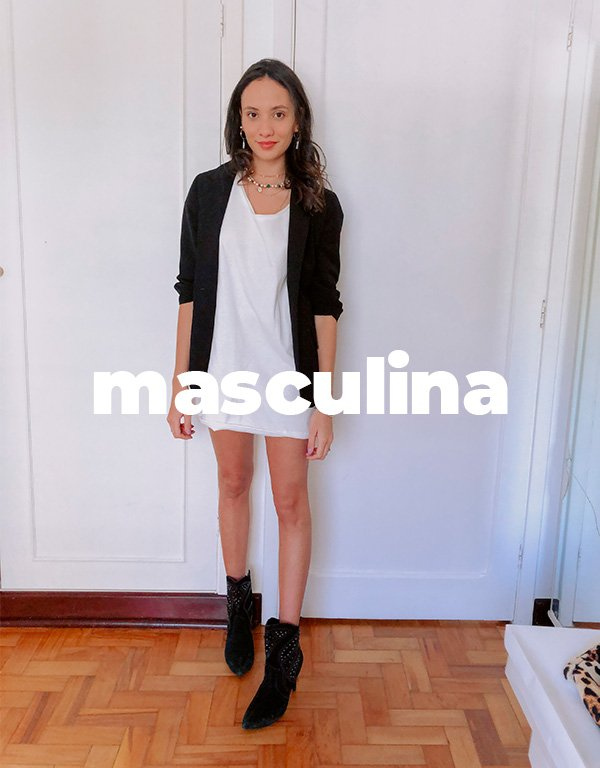 It girls - Camiseta branca - Masculina oversized - Inverno - Street Style - https://stealthelook.com.br