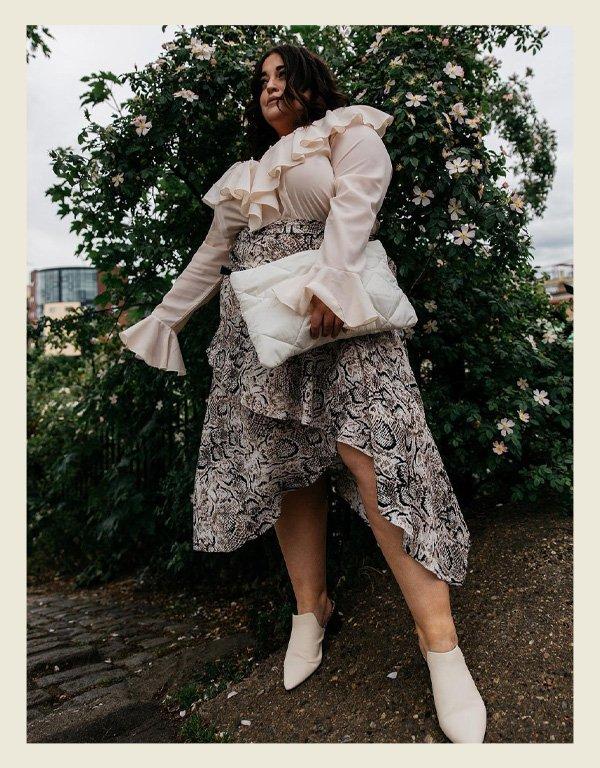 Danielle Vanier - tendência da alta costura - babados - inverno - street style - https://stealthelook.com.br