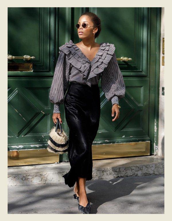 Ellie - tendência da alta costura - babados - inverno - street style - https://stealthelook.com.br