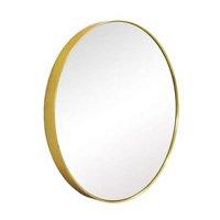 Espelho Redondo em Resina Sófia M