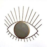 Espelho Moldura Olho Dourado - L3 Store