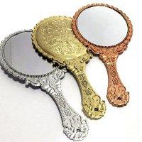 Kit Com 3 Espelhos De Mão Princesa Provençal