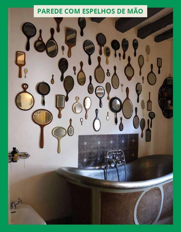 - decorar a casa com espelhos - ESPELHOS - inverno - em casa - https://stealthelook.com.br