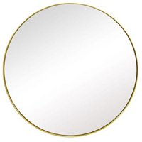 Espelho Redondo Resina Sófia G