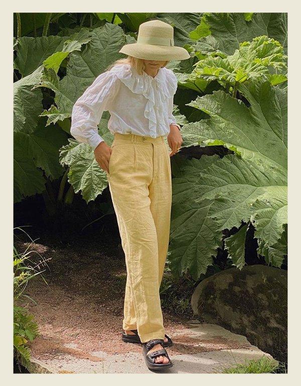 Fanny Ekstrand - tendência da alta costura - babados - inverno - street style - https://stealthelook.com.br