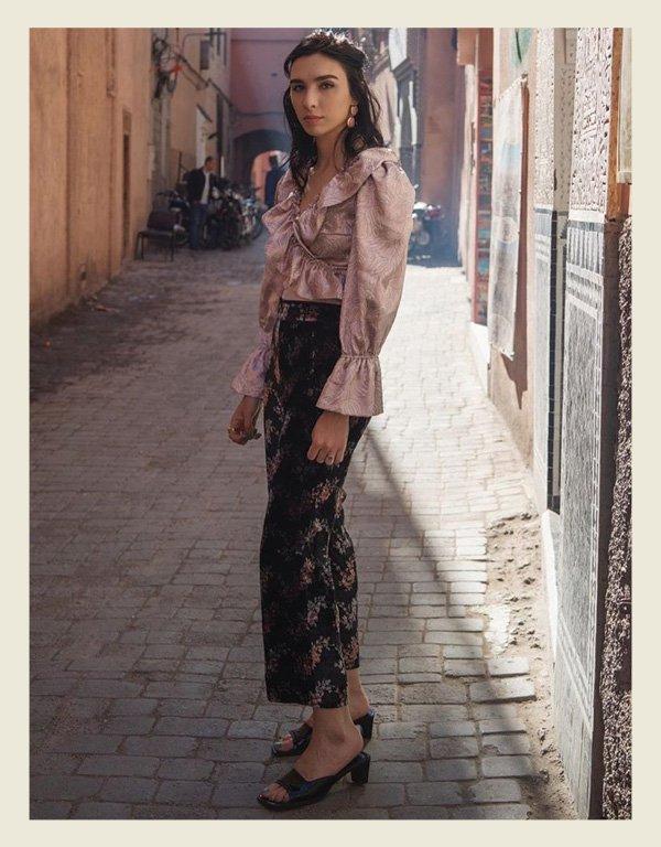 Frida Becker - tendência da alta costura - babados - inverno - street style - https://stealthelook.com.br