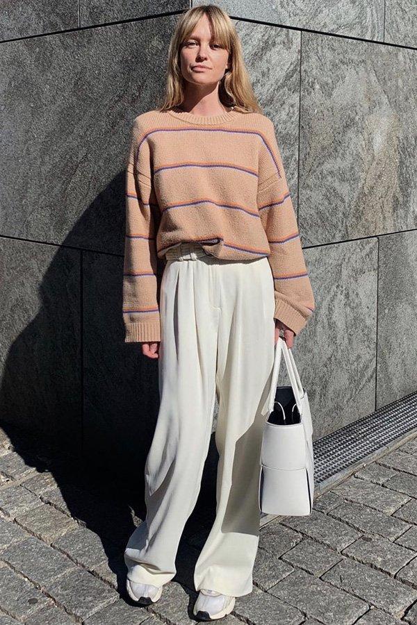 Jeanette Madsen - calças básicas - básicos - inverno - street style - https://stealthelook.com.br