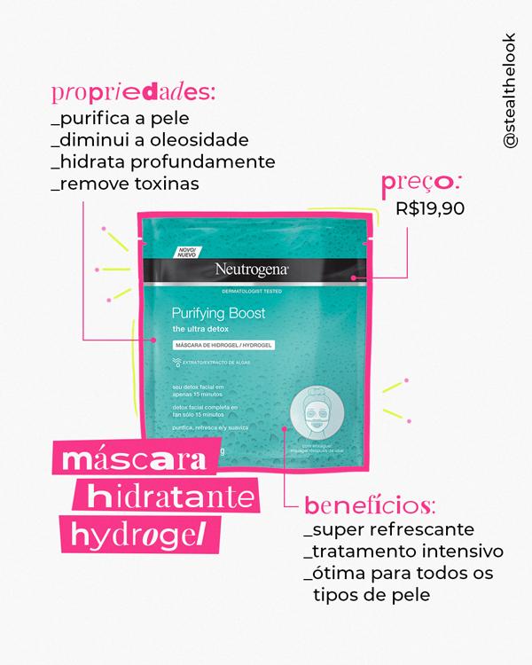 It girls - Máscaras faciais - Boost hidratante - Inverno - Street Style - https://stealthelook.com.br
