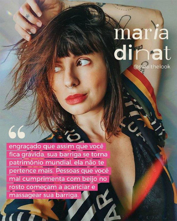 Maria Dinat - mulheres grávidas - gravidez - inverno - street style - https://stealthelook.com.br