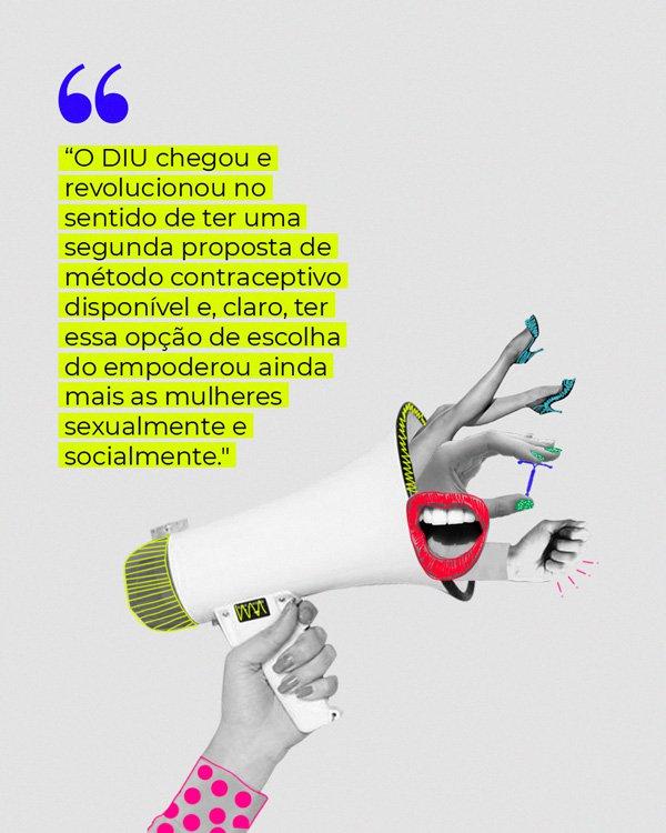 lettering - diu - métodos contraceptivos - lettering - lettering - https://stealthelook.com.br