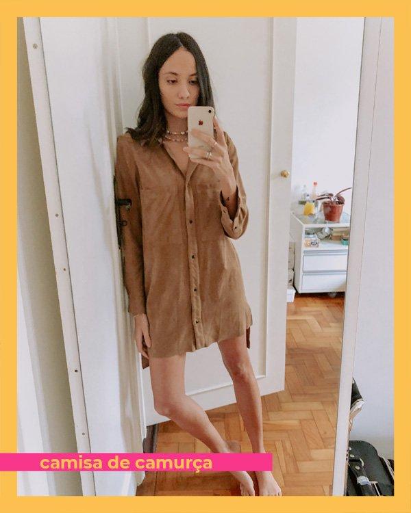 Jéssica Menasce - camisa - camisa - inverno - em-casa - https://stealthelook.com.br