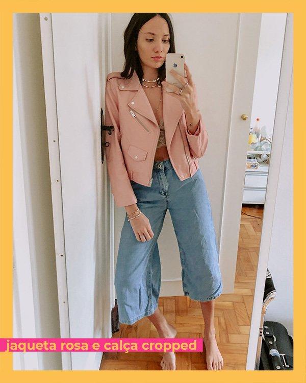 Jéssica Menasce - jaqueta-calca-cropped - jeans - inverno - em-casa - https://stealthelook.com.br