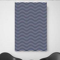 Placa Decorativa Wave 30x20