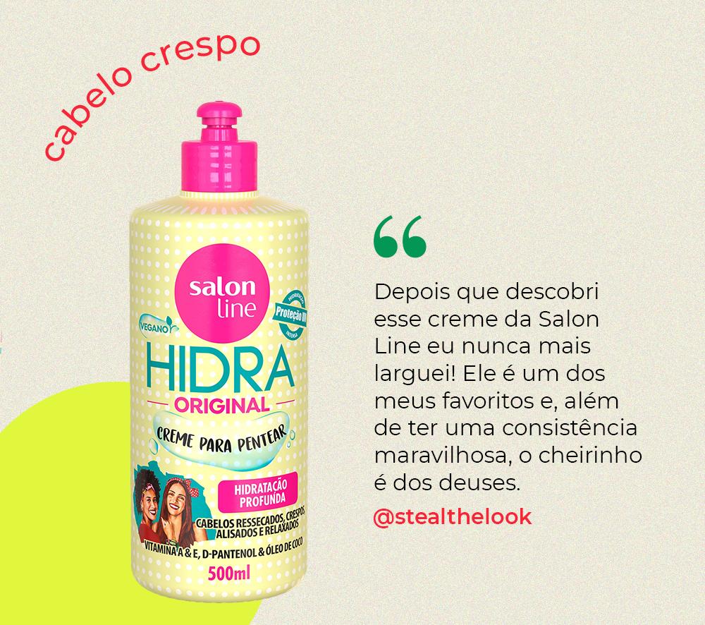 salon line - cabelo crespo - dicas cebelo crespo - como cuidar do cabelo crespo - como usar creme - https://stealthelook.com.br