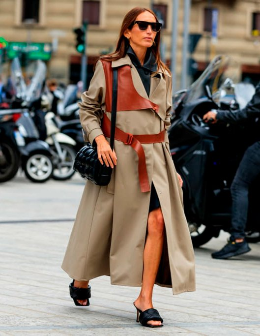 It girls - Trench coat - Sandália tendência - Inverno - Street Style - https://stealthelook.com.br