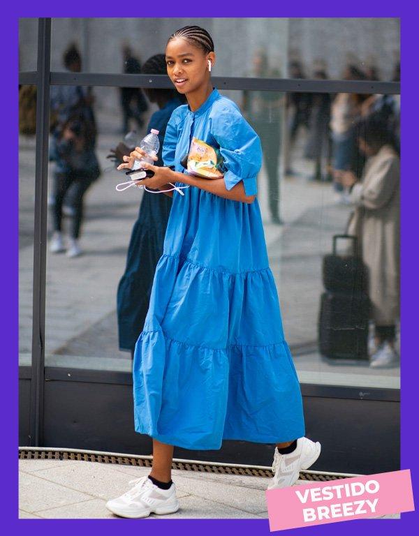 Street stYLE - vestidos - breezy dress - inverno - street style - https://stealthelook.com.br