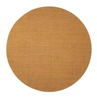 Tapete Natural Redondo Sisal