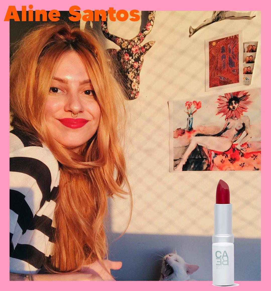 It girls - Batom vermelho - Beleza - Inverno - Street Style - https://stealthelook.com.br