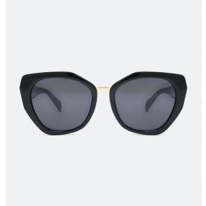 Óculos de Sol Feminino Gateado Facetado