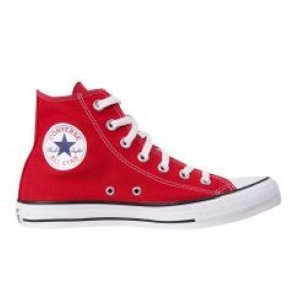 Tênis Converse All Star Core Hi Vermelho Vermelho Tamanho 34