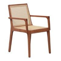 Cadeira com Braços Caymmi - Natural