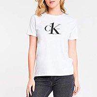Camiseta Slim Silk, Calvin Klein, Feminino