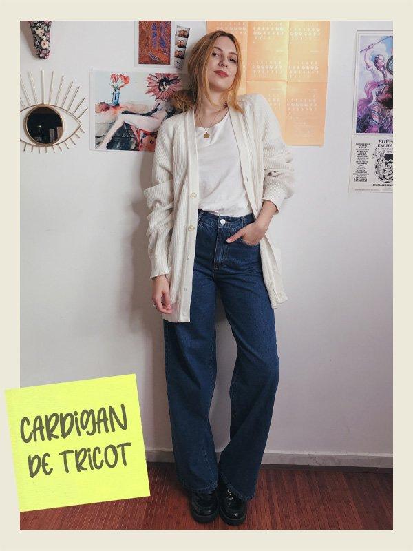 Ali Santos - casacos que nunca saem de moda - cardigan - inverno - street style - https://stealthelook.com.br