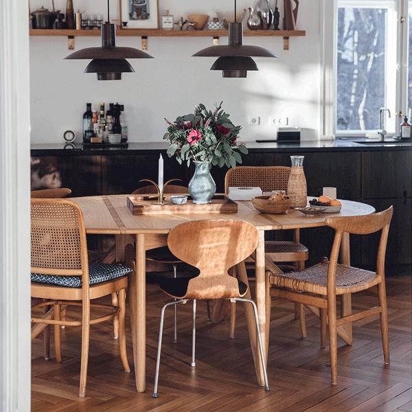 Mais de 15 itens para decorar a sala de jantar num espaço pequeno