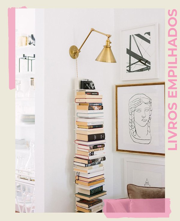Alaina Kaczmarski - FORMAS DE DECORAR - livros - inverno - street style - https://stealthelook.com.br