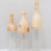 Garrafa Decorativa Wood