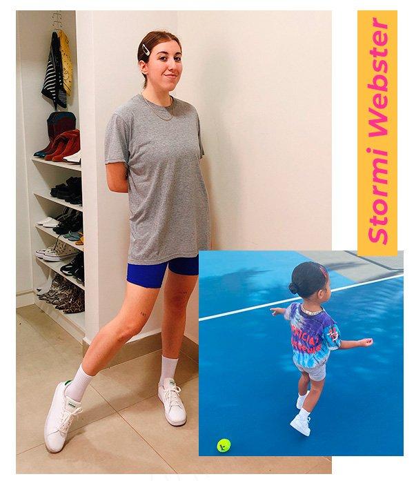 It girls - Biker shorts - Crianças mais estilosas do Instagram - Inverno - Em casa - https://stealthelook.com.br