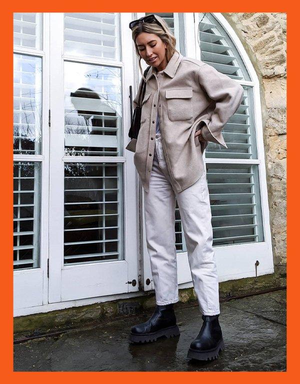 Hannah Lewis - modelo de bota - chunky boots bota chunky - inverno - street style - https://stealthelook.com.br