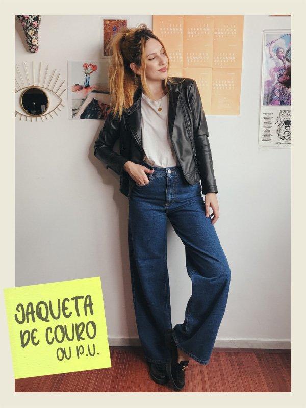 Ali Santos - casacos que nunca saem de moda - jaqueta de couro - inverno - street style - https://stealthelook.com.br