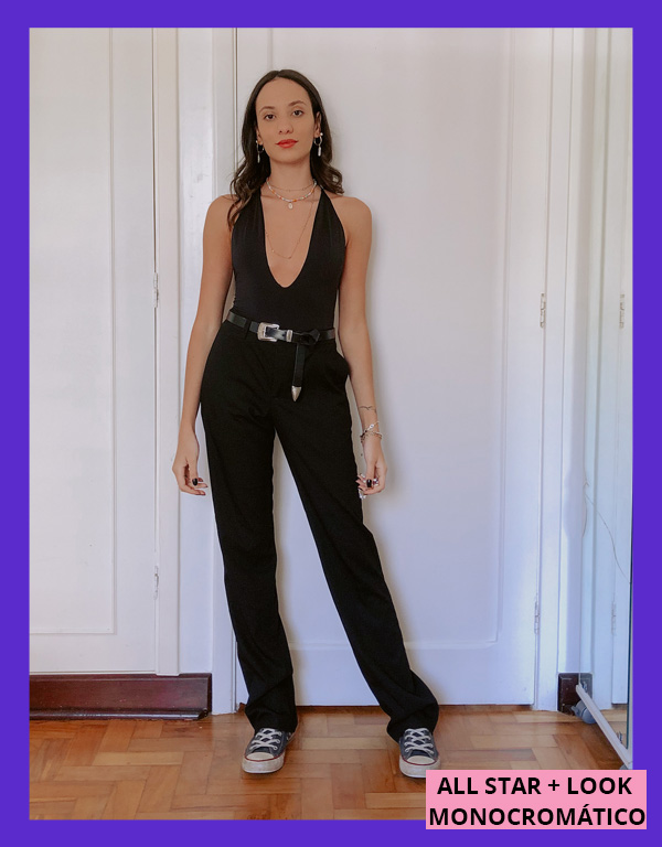 Jéssica Menasce - all star - formas de usar all star - inverno - street style - https://stealthelook.com.br