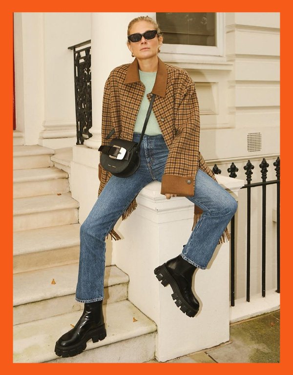 Lucy Williams - modelo de bota - chunky boots bota chunky - inverno - street style - https://stealthelook.com.br